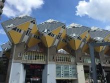 Les maisons cubes de Rotterdam