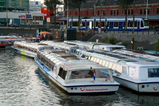 Bateaux à Amsterdam