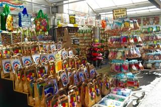 Stand de graines et oignons Marché aux fleurs d'Amsterdam