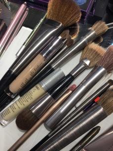 Pinceaux et maquillage
